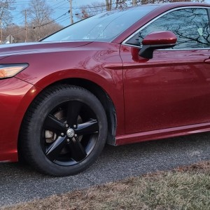 Camry with winter wheels