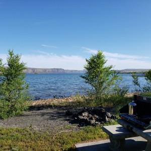 Banks Lake Breakfast