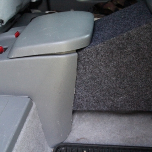 09 access cab subwoofer box