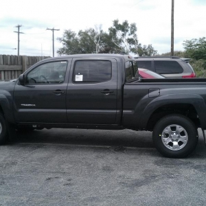 New 2012 Tacioma