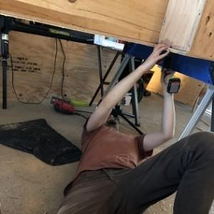 Drilling Bed Frame