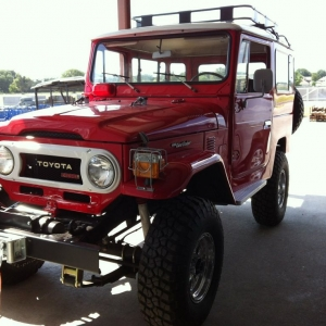 Diesel Landcruiser in mint condition :drool: