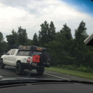 Bad pic, loaded up armored taco