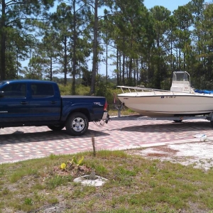 06 DC trd off  towing 19' key west
