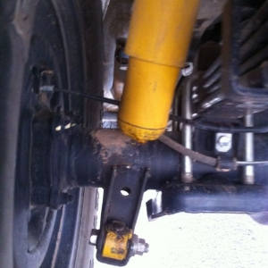 A new mod I thought up yesterday. I call it the rear shock delete. I was su
