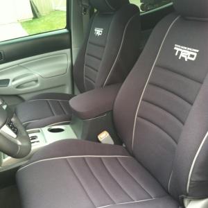 TRD, seat covers, wet okole