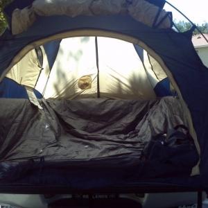 Sportz tent Inside