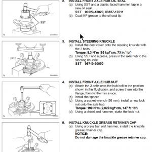5 Lug Wheel Bearing 3