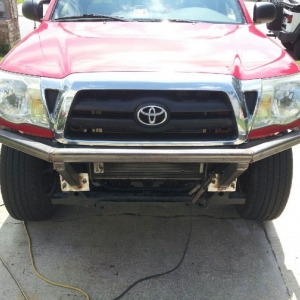Just testing, currently building my bumper