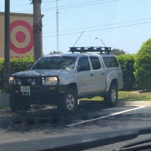 Spotted at chick fil a on Fruitville road off of I-75 in Sarasota. Had Texa