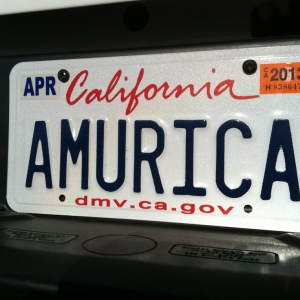 Brothers new license plate.