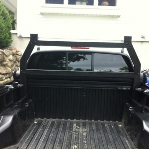 Stage 2 - CUSTOM BUILT back rack! removable too