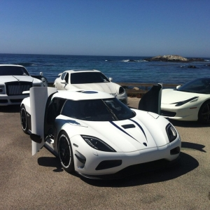 A friend got one of his agera r's. And some other stuff