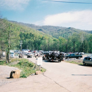 Parking lot of the trail head.