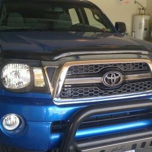 BHLM, Blacked out Toyota Emblem
