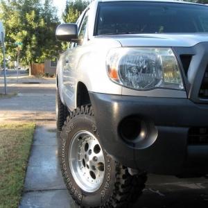 After FatBob's lift and new wheels/tires