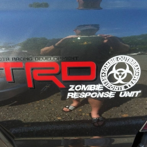Zombie Response Unit Decal
