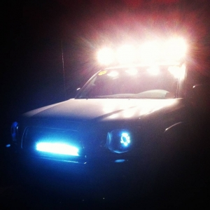 Roof Lights + RI LED Bar + Halos