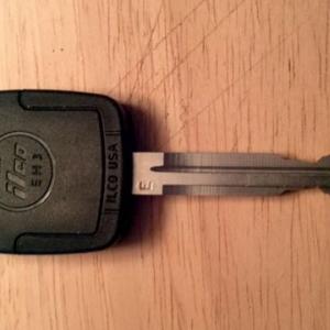 Tacoma Home Depot Transponder Key Front