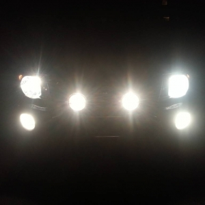 New Hella 500 Black Magic Lights