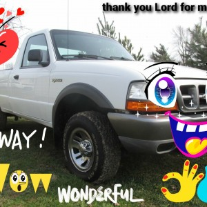 Thank you Lord for my Ford