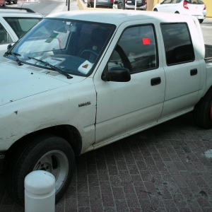Hilux in Curacao