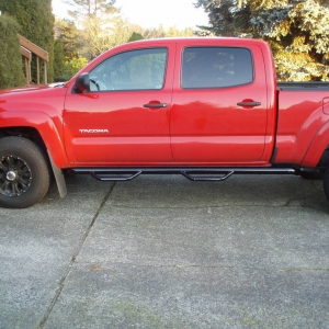 "3"" lift  w/stock size tires         245/16 tires"