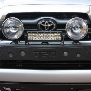 Line-X'd Cross Fab Light Bar Front