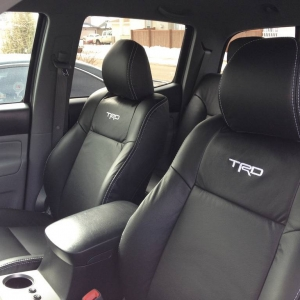 custom TRD leather