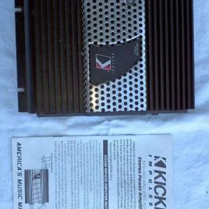 Kicker Impulse IX252 AMP