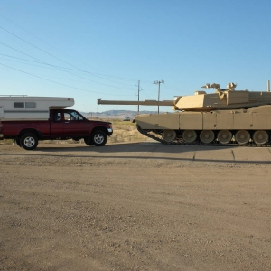 Toyota vs tank
