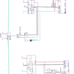 Projector Retrofit wiring