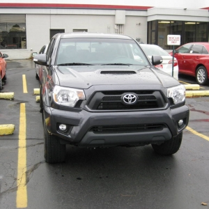 Brand New 2013 Tacoma Magnetic Gray 4WD 4x4 Double Cab TRD Sport