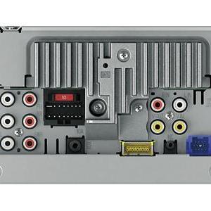Pioneer AVH4400 rearview