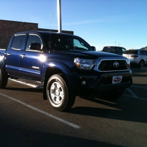 The New 2013 TRD Off Road Taco