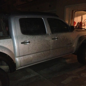 Mud run in Holy Jim with 4 Tacos and 1 FJ