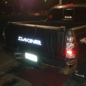 New Dakine pad