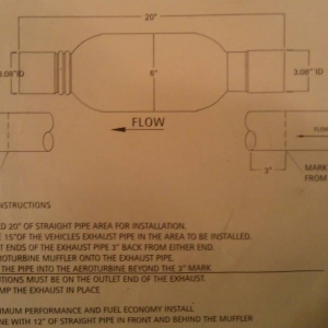 AREOTURBINE INSTRUCTIONS