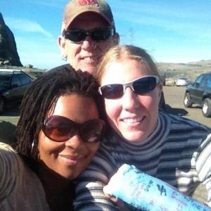 Tamika, Lenie and me