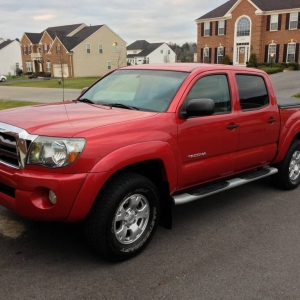 2009 Tacoma Double Cab Pre-Runner TRD SR5