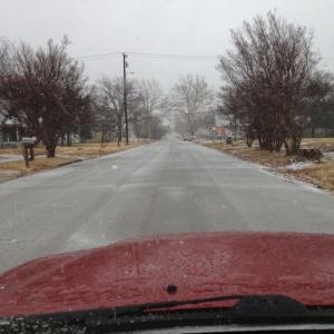 Snow in Texas!
