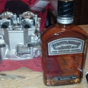 Gentleman jack and a valve job good night.