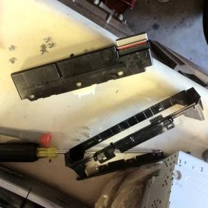 Clock assembley bracket