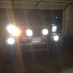New headlights