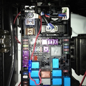 LED Wiring into Fuse Box