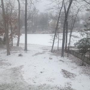 Snow in VA