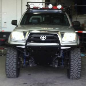 custom front bumper
