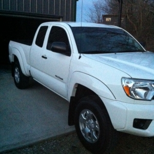 2012 4cyl 4x4(5speed), tinted fronts