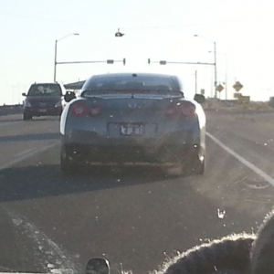GTR on the way home from work.