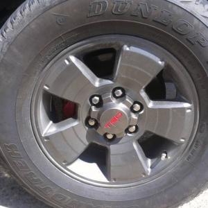 Wheels painted